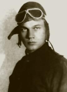 Aviator Joseph Cotten circa 1925