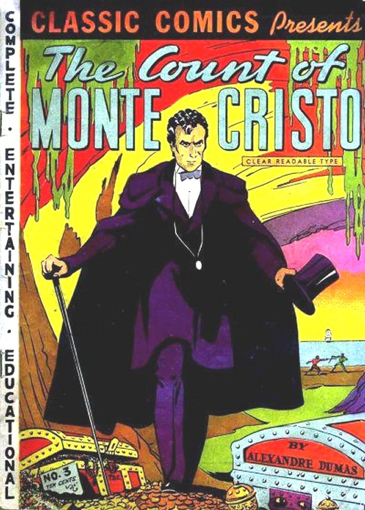 Count Of Monte Cristo Comic Book