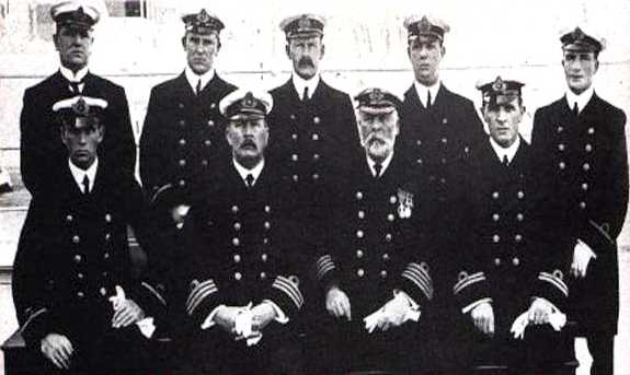 crew and staff of the Titanic ..
