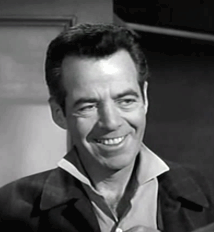 Gerald Mohr as Crimp Ward in Bat Masterson, ca. 1961