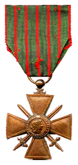 No mere 'Hollywood adventurer,' Brian Donlevy's entire Wisconsin Company C, 127th Infantry Regiment, of the 32nd Army Division was awarded the Croix de guerre by France for their efforts between 1914 and 1918.