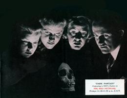 1942 WKY promo for Dark Fantasy