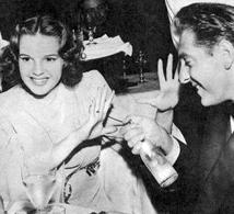 The Roses mugging at a Hollywood party, ca. 1939