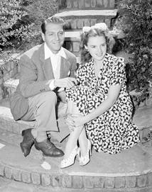 Mr. and Mrs. David Rose (David Rose and Judy Garland), ca. 1939