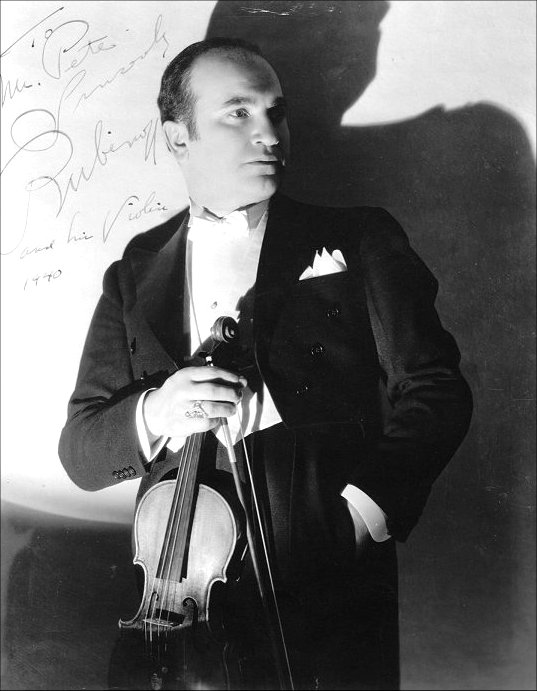David Rubinoff orchestra