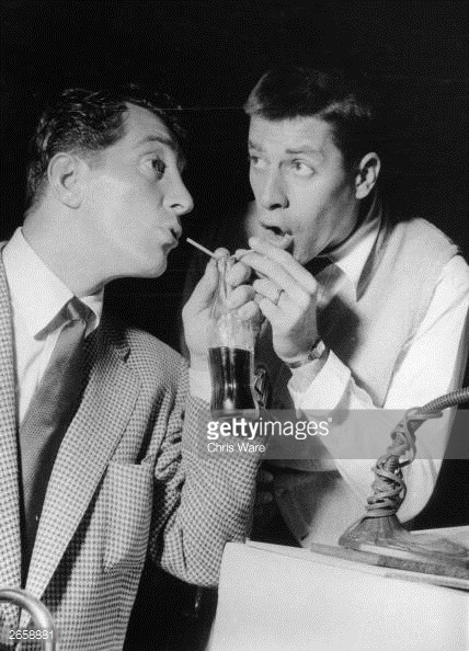 Dean Martin and Jerry Lewis debuted their NBC radio show on this date in 1949. The series continued until 1952. Photo courtesy of NBC.