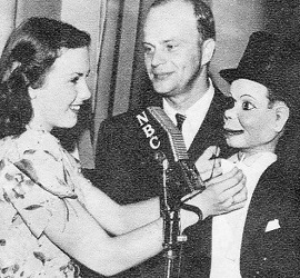 Deanna Durbin with Bergen and McCarthy
