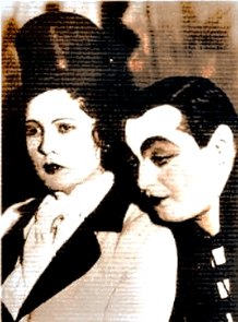 Lorre in German Stage production, ca. 1931