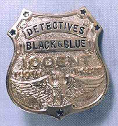 Detective Black and Blue
