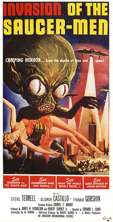 Invasion of the Saucer Man