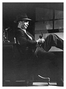 Dick Powell as Philip Marlowe in his breakout dramatic blockbuster, Murder My Sweet (1944)