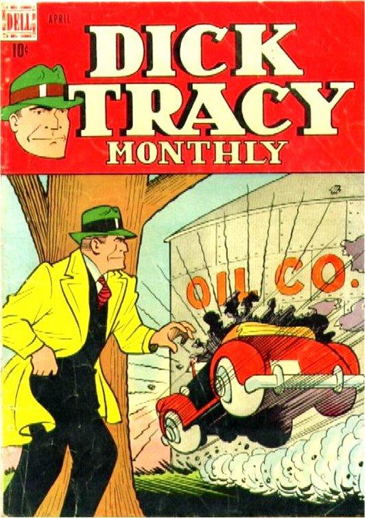 Dick Tracy Comic Book