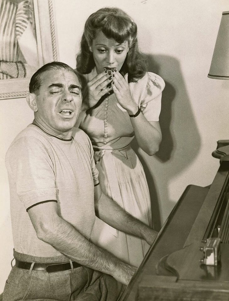 Dinah Shore with Eddie Canto