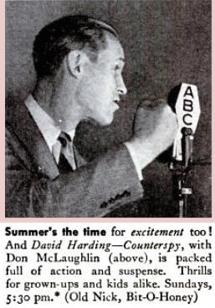Don MacLaughlin as David Harding circa 1947