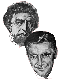 Colman's split-personalities in A Double Life (1947)