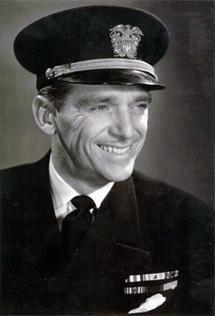 Douglas Fairbanks, Jr., as a Navy Lieutenant