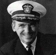 Commander Douglas Fairbanks, Jr., recipient of the Silver Star and the Legion of Merit.