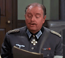 Parley Baer as Reich's Doktor Pohlmann from Hogan's Heroes, 1967