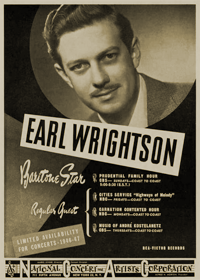 Popular baritone Earl Wrightson was a regular contributor to Best of All