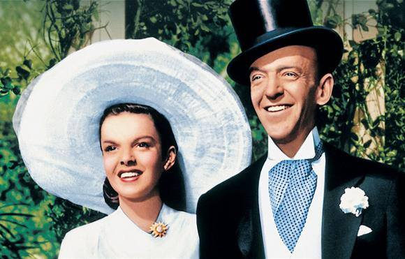 "Easter Parade""(1948), Judy Garland with Fred Astaire."