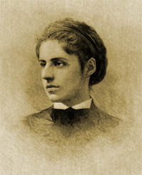Poet Emma Lazarus, famous for her The New Collossus which is engraved on the base of The Statue of Liberty was an educator and tutor at the early YMHA