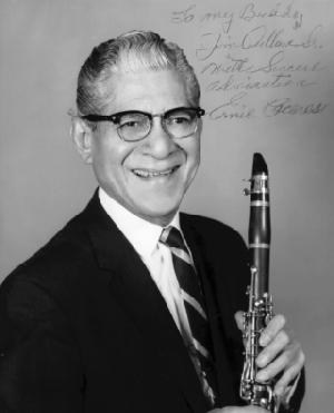 Eddie Ceceres clarinet/saxophone