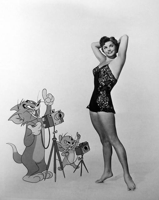 Actress Esther Williams
