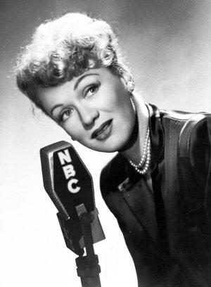 Eve Arden, the star of Our Miss Brooks