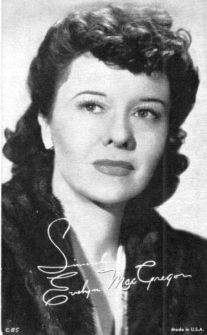 Evelyn MacGregor