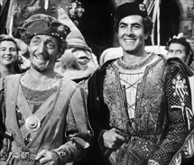 Everett Sloane with Tyrone Power in Prince of Foxes (1949)