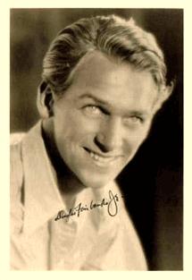 Douglas Fairbanks fan card circa 1931