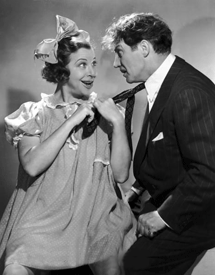 Fanny Brice with Hanley Stafford