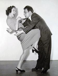 Cronyn with Fannie Brice, ca. 1940