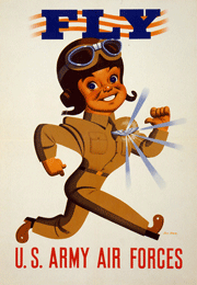 Early USAAF recruiting poster