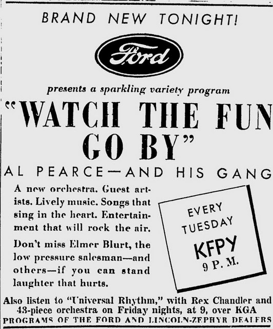 Al Pearce and his Gang.