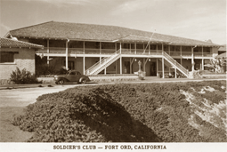 The Fort Ord Soldier's Club as it would have looked to Candy Matson