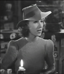 Frances Robinson as Pat Lawrence in 1940's The Lone Wolf Keeps A Date
