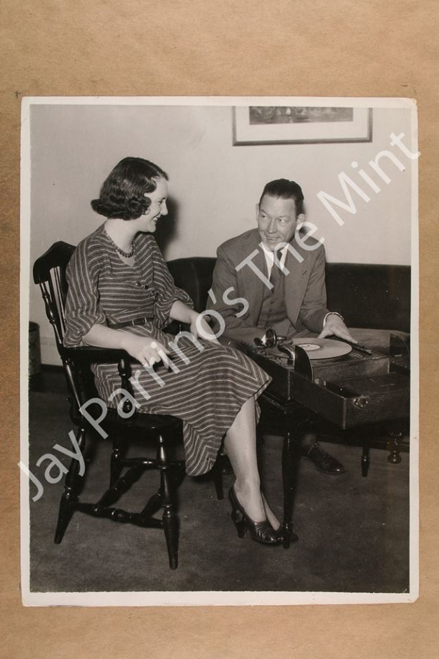 Fred Allen and his Wife