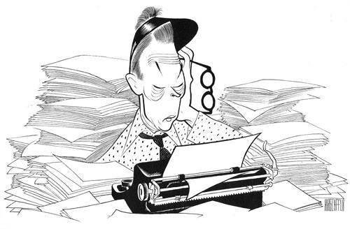 Fred Allen by Hirschberg