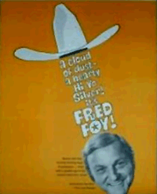 Promotional Poster from Fred Foy's Book Tour