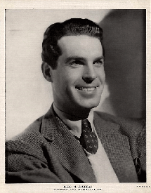 Fred MacMurray publicity photo for 13 Hours By Air (1936)