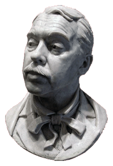 Bust of Paul Frees ''The Man of A Thousand Voices'' circa 1978