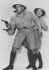 Gale Gordon & Joan Burroughs Pierce as Cecil Clayton and Jane