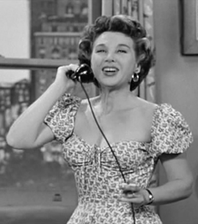 Gloria Blondell on I Love Lucy from 1952