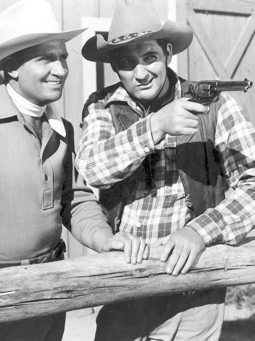 Gene Autry and Pat Buttram