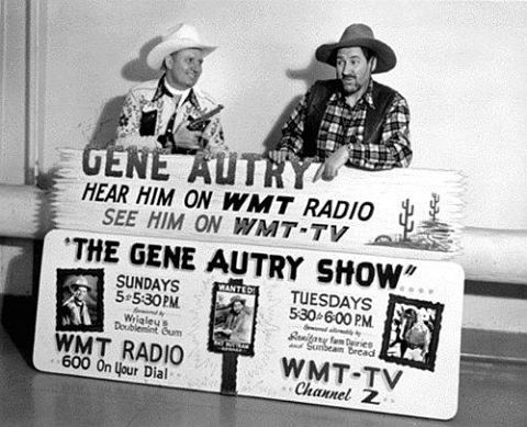 Gene Autry with sidekick Pat Buttram