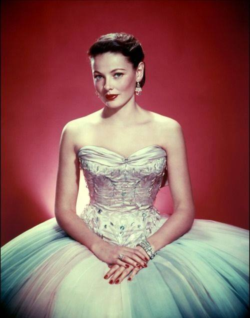 Actress Gene Tierney