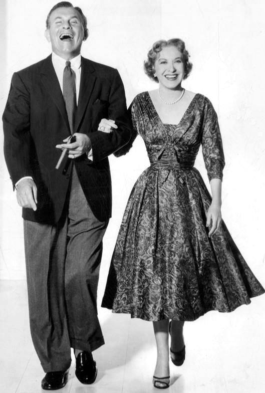 George Burns and Graci Allen