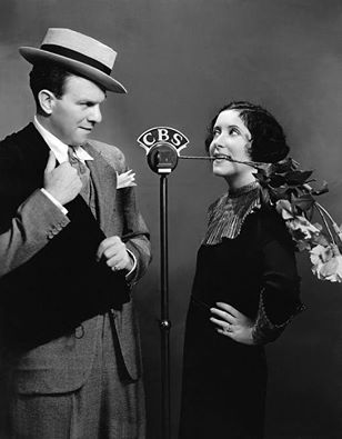 George Burns and Gracie Allen