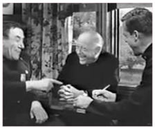 John Gibson as a Pastor, in 1962's Car 54 Where Are You?